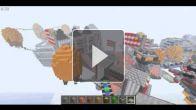 Minecraft - reconstitution de Columbia (Bioshock infinite)