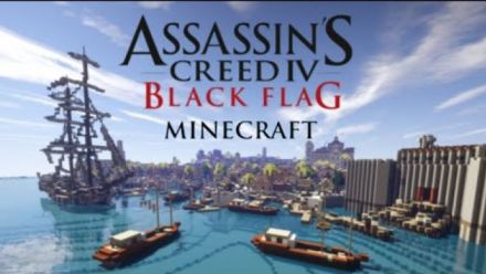 Vid�o : La Havane d'Assassin's Creed IV dans Minecraft