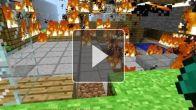 Minecraft - Une belle flambée