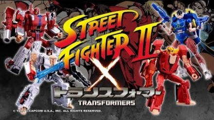 Vid�o : Street Fighter II x Transformers