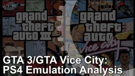 Vid�o : Grand Theft Auto III & Vice City