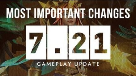 Vid�o : Dota 2 NEW 7.21 Patch GAMEPLAY UPDATE