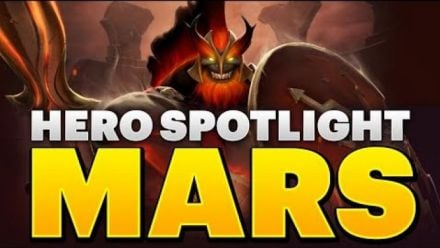 Vid�o : Dota 2 Hero Spotlight - Mars