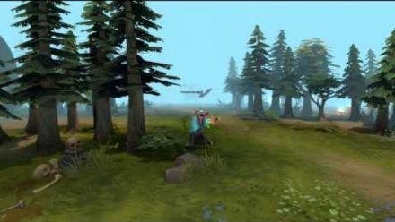 Vid�o : Goat Simulator - DotA 2 Courrier