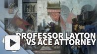 Vidéo : Prof. Layton Vs Ace Attornay Trailer US