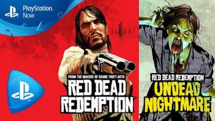Red Dead Redemption PS4 et PC sur PlayStation Now