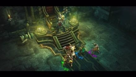 Vid�o : Diablo III PlayStation 3 Multiplayer Trailer