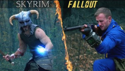 Skyrim vs Fallout, l'affrontement épique en vidéo