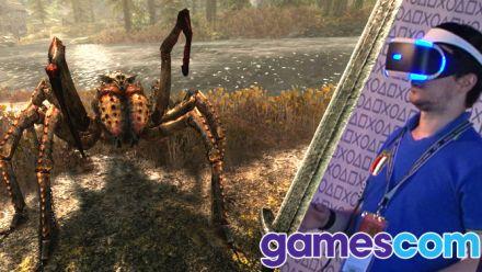 Vid�o : Gamescom : Nos impressions pleines de déception sur Skyrim VR