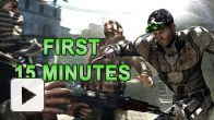 Splinter Cell Blacklist Gameplay Walkthrough - Introduction First 15 minutes Campaign Mode