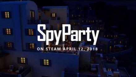 Vid�o : SpyParty : Trailer Early Access