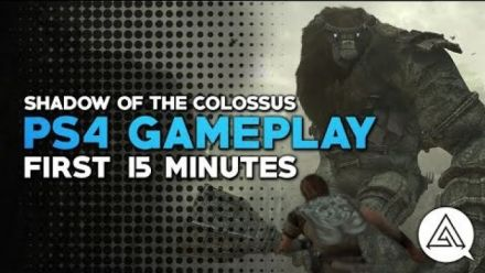 Shadow of the Colossus : 15 minutes de gameplay