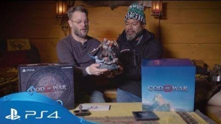 God of War : Unboxing de la Collector par Cory Barlog et Christopher Judge