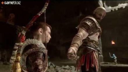 God of War : 15mn de gameplay 4K (sans spoilers)