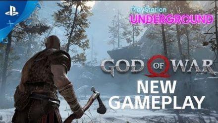 God of War : 5 min de gameplay par PlayStation Underground