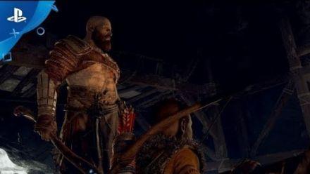 God of War se montre avec du gameplay