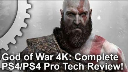 God of War : Analyse vidéo de Digital Foundry