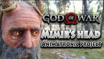 Vidéo : God Of War's Mimir - An animatronic project by Bar-El Studio