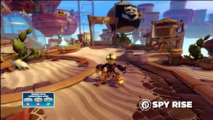 Meet the Skylanders: Spy Rise