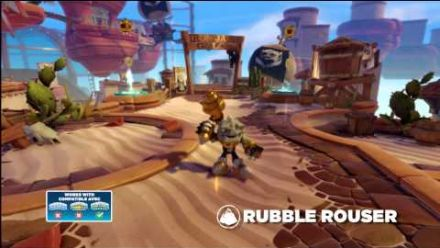 vidéo : Meet the Skylanders: Rubble Rouser