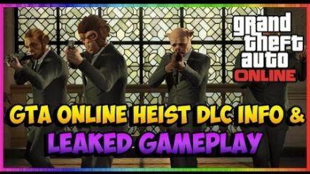 GTA V : animations du DLC Heists