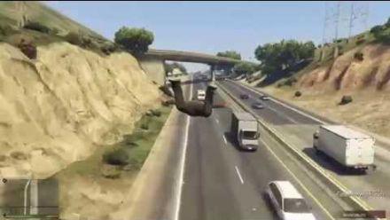 GTA 5 - Chute libre