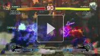 vidéo : Super Street Fighter IV Arcade Edition - Oni vs Evil Ryu Gameplay - Captivate 11