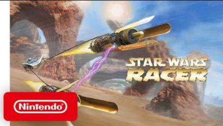 Vid�o : Star Wars Episode 1 Racer : Trailer de lancement sur Switch