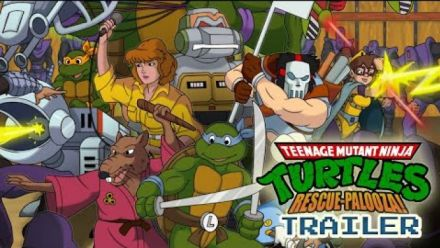 Vidéo : Teenage Mutant Ninja Turtles : Rescue-Palooza : Bande-annonce