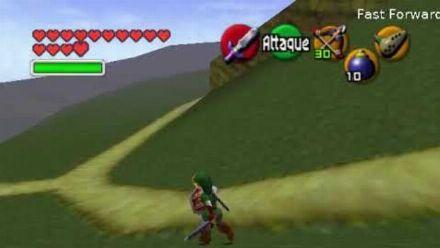 Vid�o : Ocarina of Time beta : Plaine d'Hyrule
