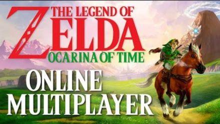 Vidéo : Zelda Ocarina of Time : Mod multijoueur