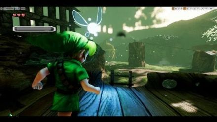 Vid�o : Zelda Ocarina of Time : Le remake Unreal Engine 4 montre sa Forêt Kokiri