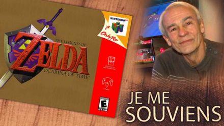 Vid�o : AHL se souvient de sa découvert de Zelda Ocarina of Time dans un village en Allemagne