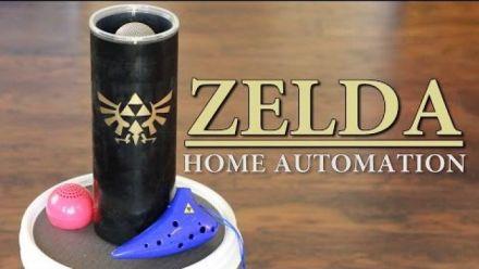 Vid�o : Zelda - Maison connectée