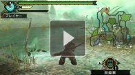 Vid�o : Monster Hunter Portable 3rd HD - Gameplay (Famitsu Broadcast)