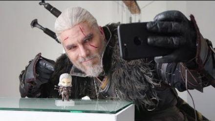 Vidéo : Nendoroid Geralt avec Maul Cosplay