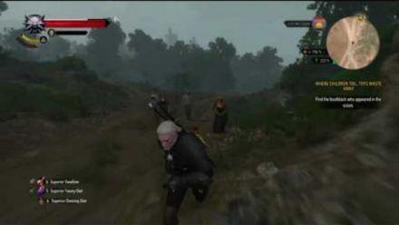 Vid�o : the Witcher III : Le bug de la groupie