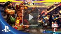 Street Fighter Tekken Vita : Trailer de lancement