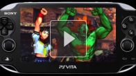 Street Fighter X Tekken Vita : Blanka, Sakura, Dudley & Elena