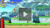 Vid�o : New Super Mario Bros. U : Trailer de gameplay