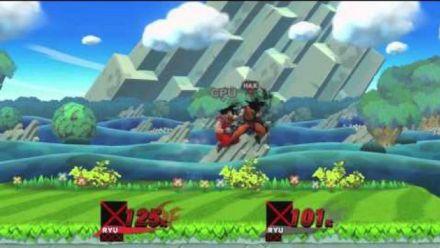 Vid�o : Super Smash Bros Wii U : Goku moddé dans Smash Bros Wii U
