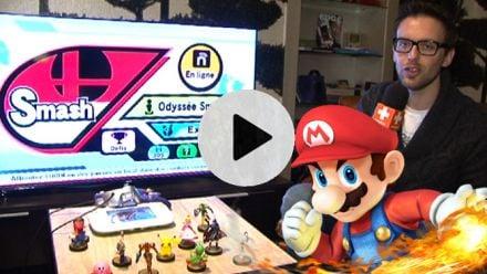 vid�o : Super Smash Bros. Wii U : découverte des amiibo