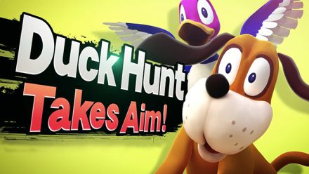 vid�o : Super Smash Bros. Wii U : Trailer Duck Hunt