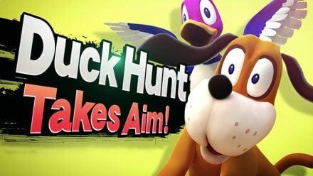 vid�o : Super Smash Bros. Wii U : Trailer Duck Hunt