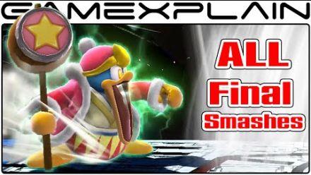 Super Smash Bros. Wii U : tous les Final Smash