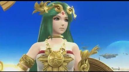 Super Smash Bros. - E3 2014 Palutena Anime