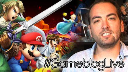#GameblogLive Super Smash Bros. 3DS avec Tiger et Julo