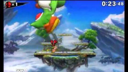 vidéo : Super Smash Bros. 3DS : le bug du géant 2