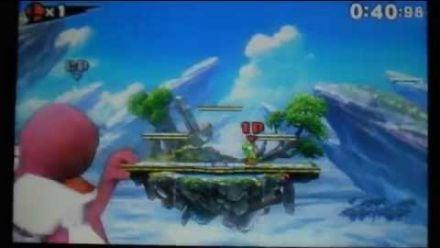 vidéo : Super Smash Bros. 3DS : le bug du géant 1/2