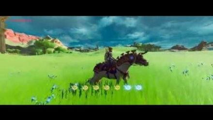 vidéo : Breath of the Wild no Cel Shading 2 (vidéo de Arkh Longstride)